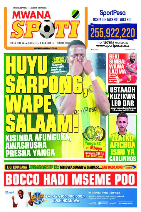 HUYU SARPONG,WAPE SALAAM!  | Mwanaspoti