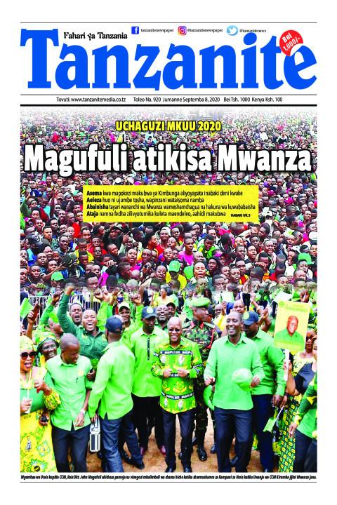 Magufuli atikisa Mwanza   Tanzanite