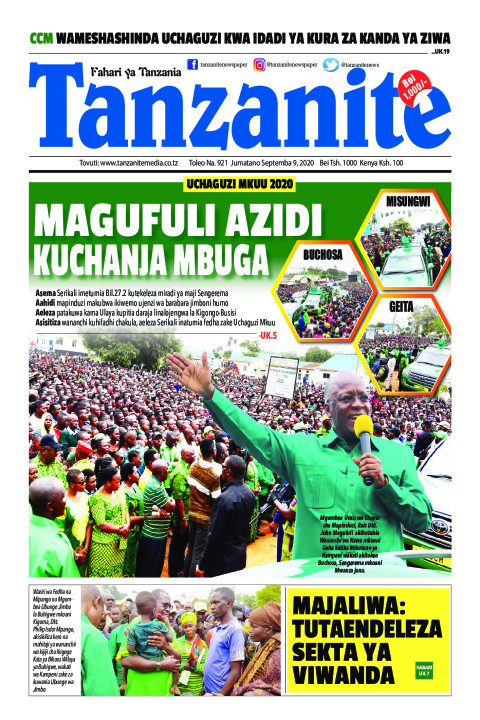 MAGUFULI AZIDI KUCHANJA MBUGA   Tanzanite