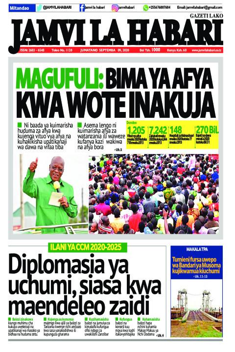 Magufuli: Bima ya afya kwa wote inakuja | Jamvi La Habari