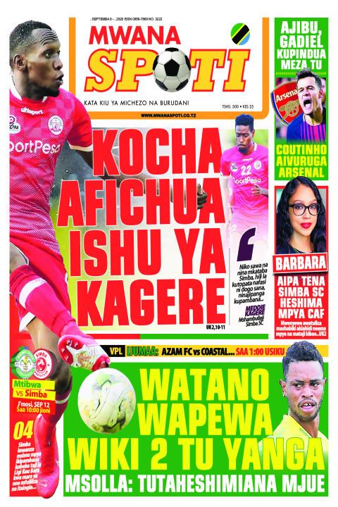 KOCHA AFICHUA ISHU YA KAGERE,WATANO WAPEWA WIKI 2 TU YANGA  | Mwanaspoti
