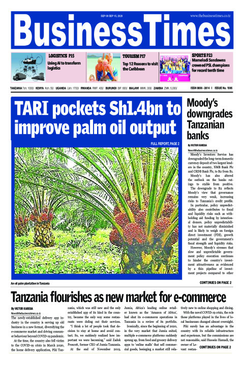 TARI pockets Sh1.4bn to improve palm oil output | Business Times