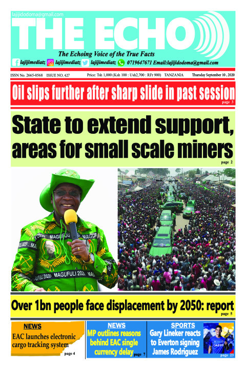 STATE TO EXTEND SUPPORT AREAS FOR SMALL SCALE MINERS | The ECHO