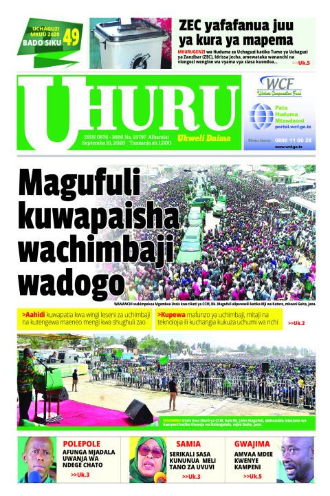 Magufuli kuwapaisha wachimbaji wadogo  | Uhuru