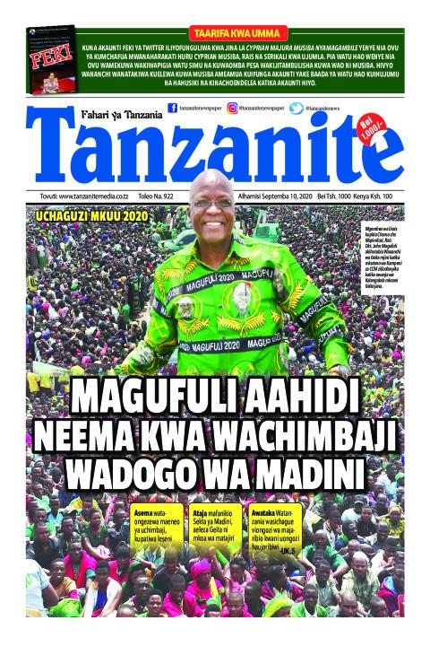 MAGUFULI AAHIDI NEEMA KWA WACHIMBAJIWADOGO WA MADINI   Tanzanite