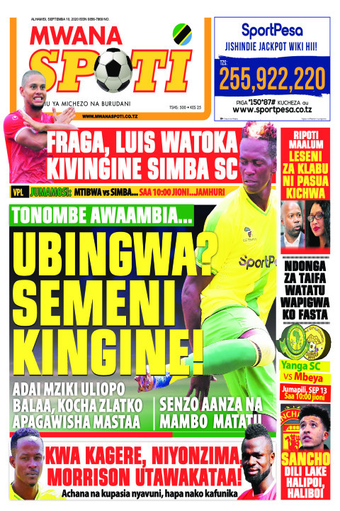 FRAGA, LUIS WATOKA KIVINGINE SIMBA SC ,TONOMBE AWAAMBIA.. UB | Mwanaspoti