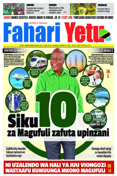 Siku 10 za Magufuli zafuta upinzani | Fahari Yetu