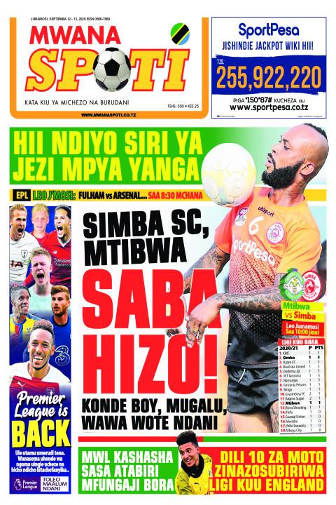 SIMBA SC , MTIBWA SABA HIZO!  | Mwanaspoti