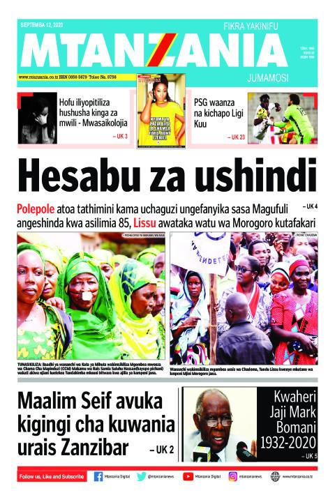 Hesabu za ushindi    Mtanzania