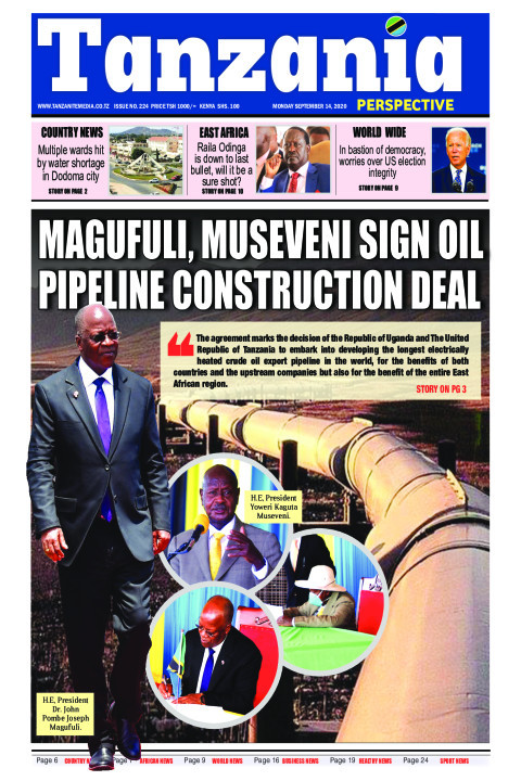 Magufuli, Museveni sign oil pipeline construction deal | Tanzania Perspective
