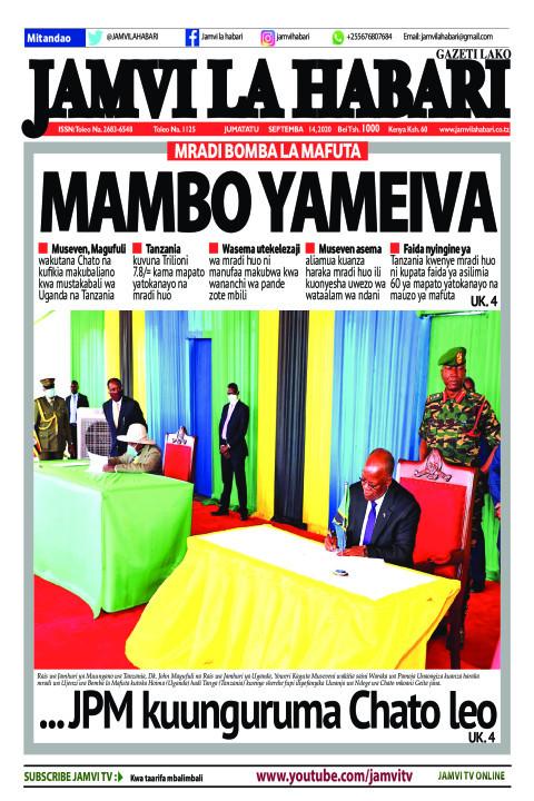 MAMBO YAMEIVA | Jamvi La Habari