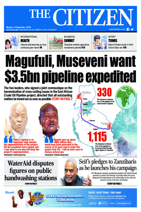 MAGUFULI, MUSEVENI WANT $3.5BN PIPELINE EXPEDITED