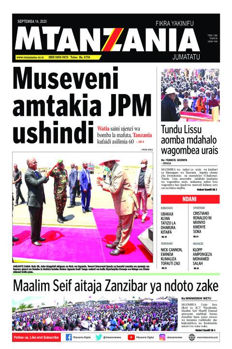 Museveni amtakia JPM ushindi   Mtanzania