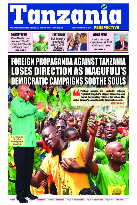 Foreign propaganda against Tanzania loses direction as Maguf | Tanzania Perspective
