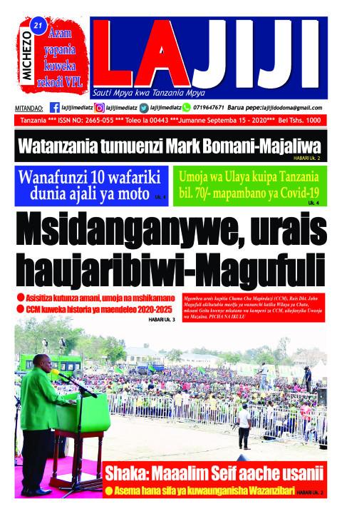 Msidanganywe, urais haujaribiwi-Magufuli    LaJiji
