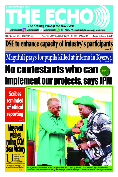 No contestants who can implement our projects, says JPM | The ECHO
