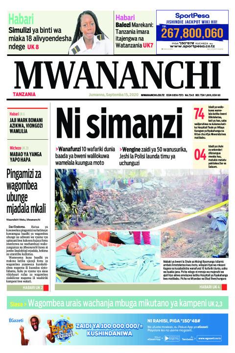 NI SIMANZI  | Mwananchi