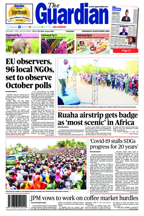 EU observers, 96 local NGOs, set to observe October polls  | The Guardian