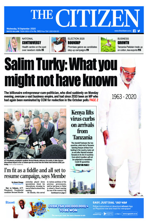SALIM TURKY:WHAT YOU MIGHT NOT HAVE KNOWN  | The Citizen