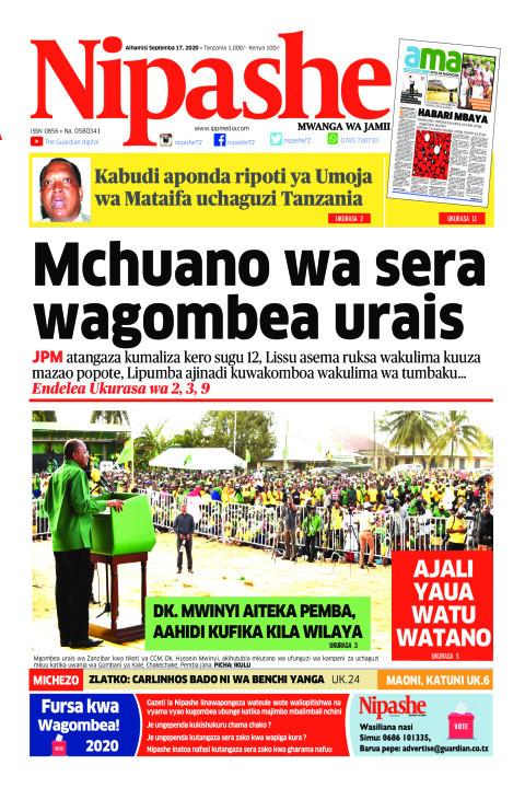 Mchuano wa sera wagombea urais | Nipashe