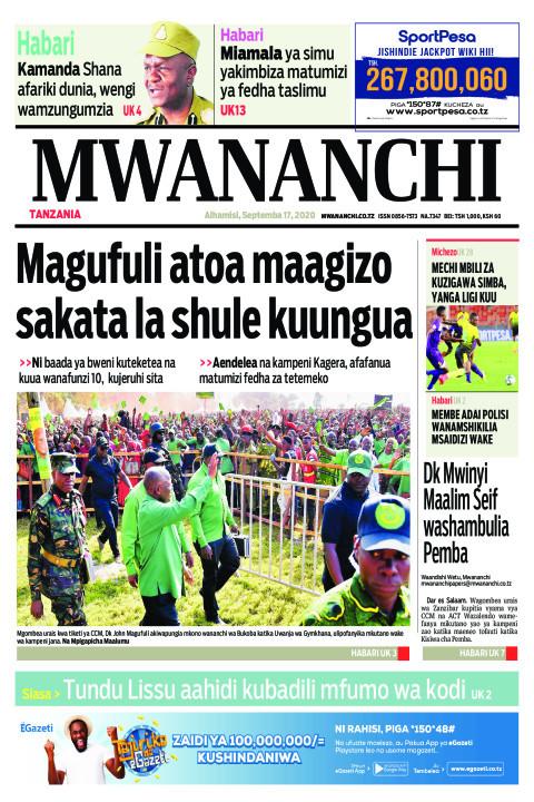 MAGUFULI ATOA MAAGIZO SAKATA LA SHULE KUUNGUA  | Mwananchi