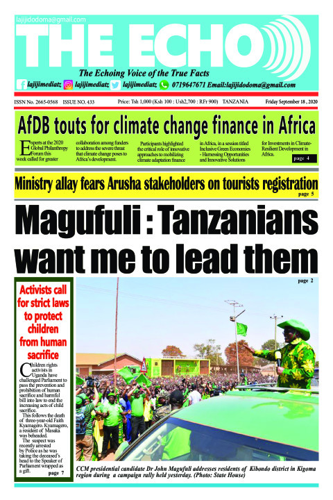 Magufuli : Tanzanians