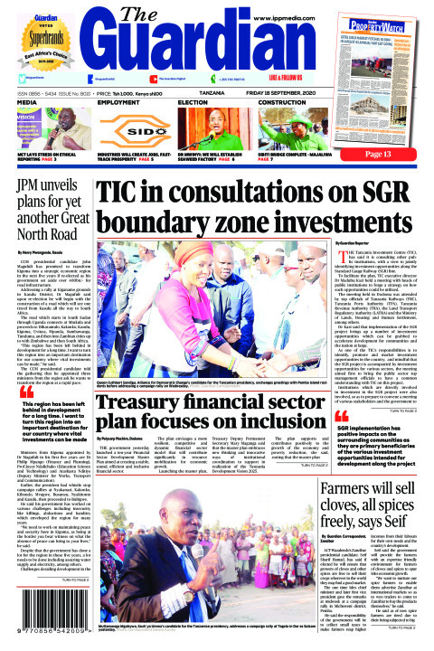 TIC in consultations on SGR boundary zone investments | The Guardian