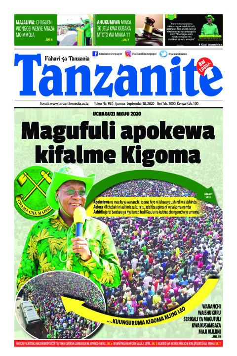 Magufuli apokewa kifalme Kigoma | Tanzanite