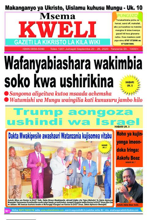 Wafanyabiashara wakimbia soko kwa ushirikina. | MSEMA KWELI