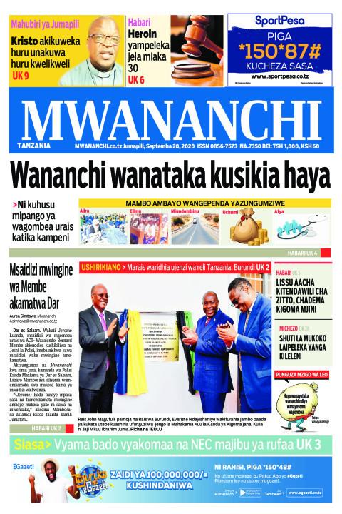 WANANCHI WATAKA KUSIKIA HAYA  | Mwananchi