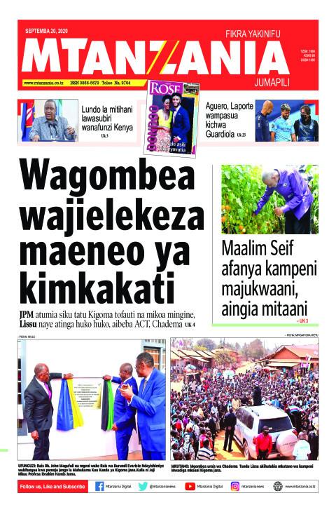 Wagombea wajielekeza maeneo ya kimkakati   Mtanzania