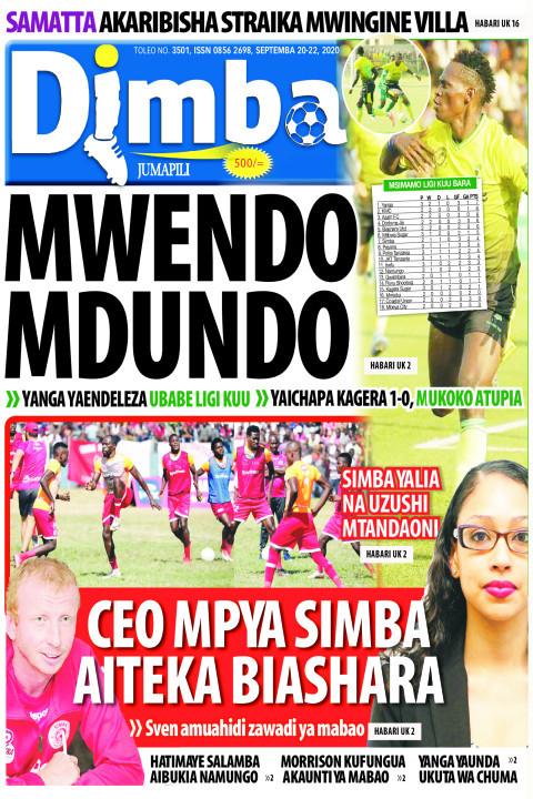 MWENDO MDUNDO | DIMBA