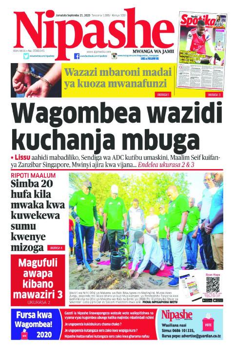 Wagombea wazidi kuchanja mbuga | Nipashe