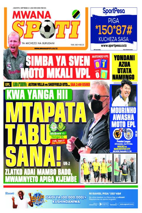 MTAPATA TABU SANA  | Mwanaspoti