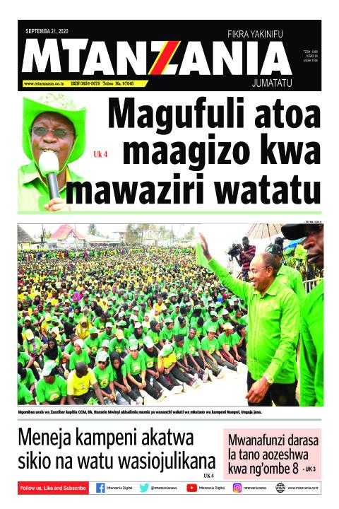 Magufuli atoa maagizo kwa mawaziri watatu   Mtanzania