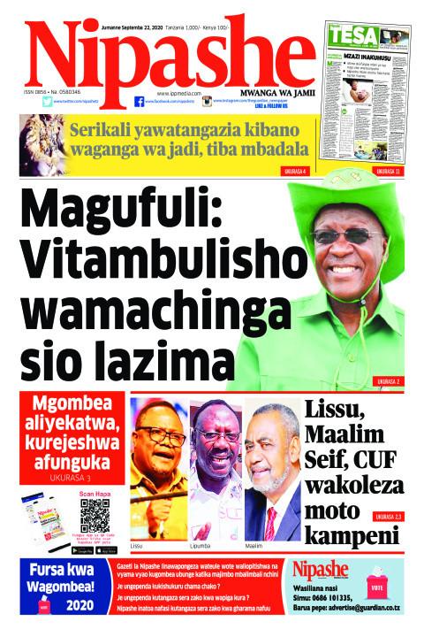 Magufuli: Vitambulisho wamachinga sio lazima | Nipashe
