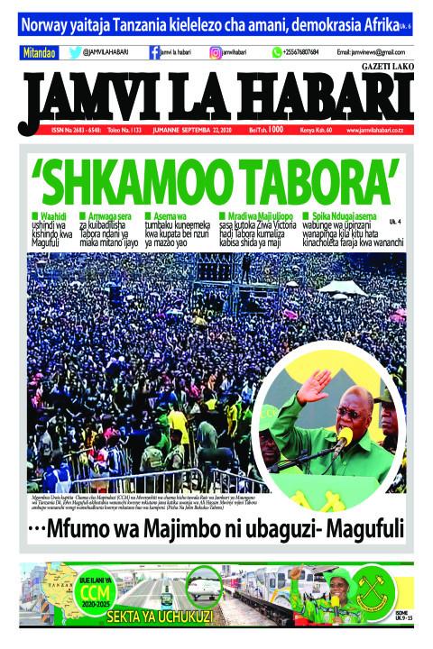 'SHKAMOO TABORA' | Jamvi La Habari