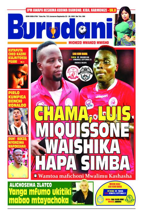 Chama, Luis Miquisson waishika hapa Simba | Burudani