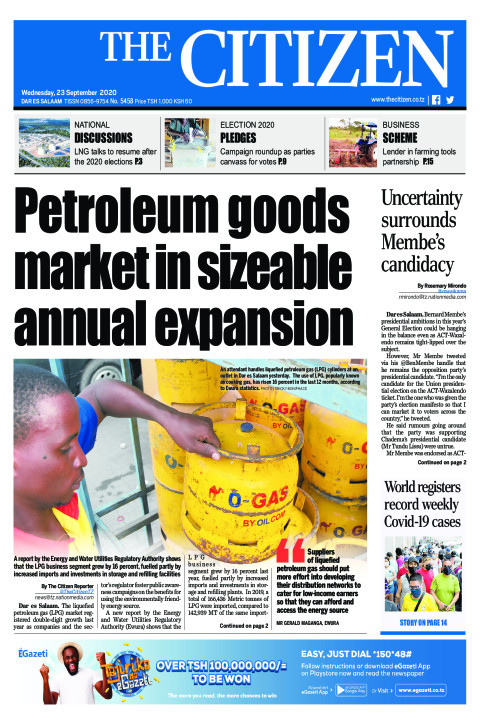 PETROLEUM GOODS MARKET IN SIZEABLE ANNUAL EXPANSION