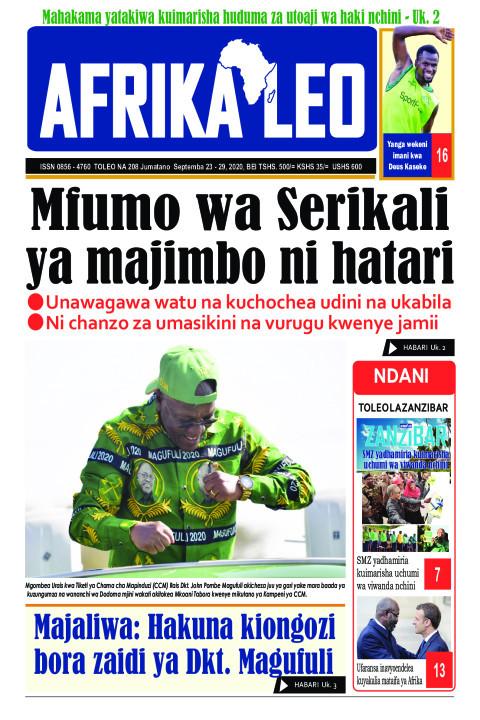Mfumo wa Serikali ya majimbo ni hatari | AFRIKA LEO