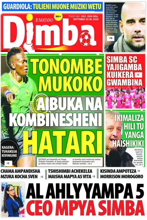 TONOMBE MUKOKO HATARI AIBUKA NA KOMBINESHENI | DIMBA
