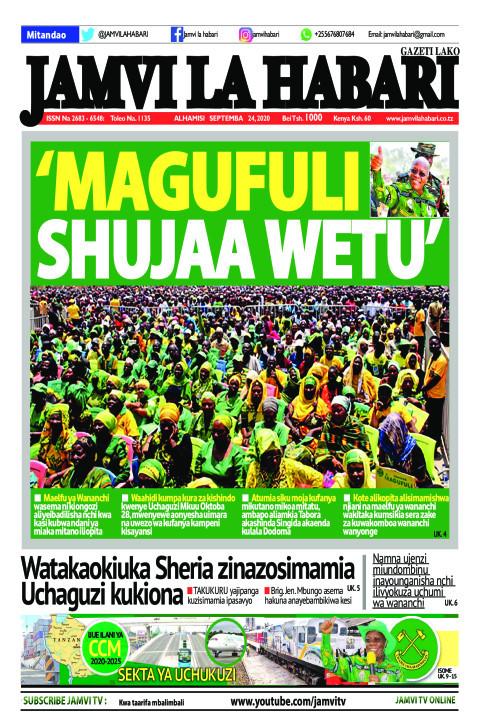 'Magufuli shujaa wetu' | Jamvi La Habari