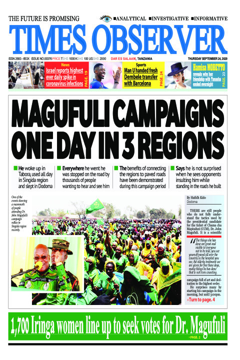 MAGUFULI CAMPAIGNS ONE DAY IN 3 REGIONS | Times Observer