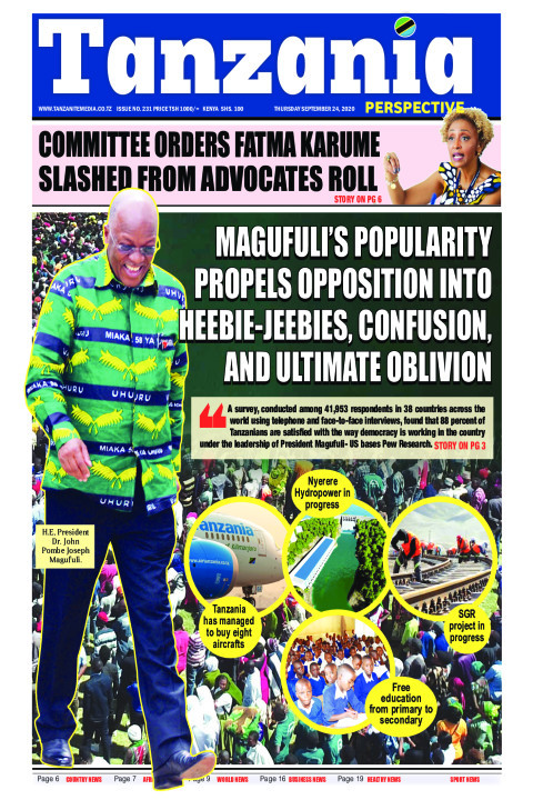 Magufuli's  popularity propels opposition into heebie-jeebie | Tanzania Perspective