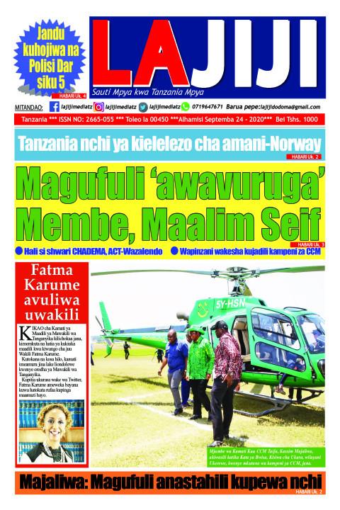 Magufuli 'awavuruga' Membe, Maalim Seif   LaJiji