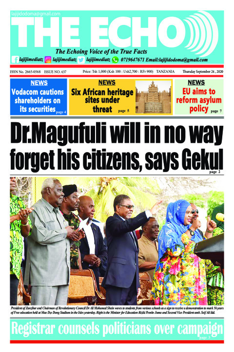 Dr.Magufuli will in no way