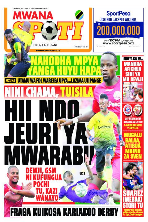 NAHODHA MPYA YANGA HUYU HAPA,HII NDIO JEURI YA MWARABU  | Mwanaspoti