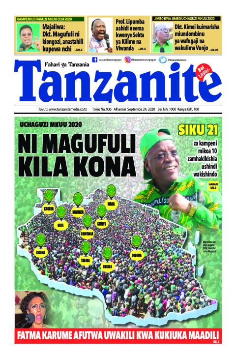 NI MAGUFULI KILA KONA | Tanzanite