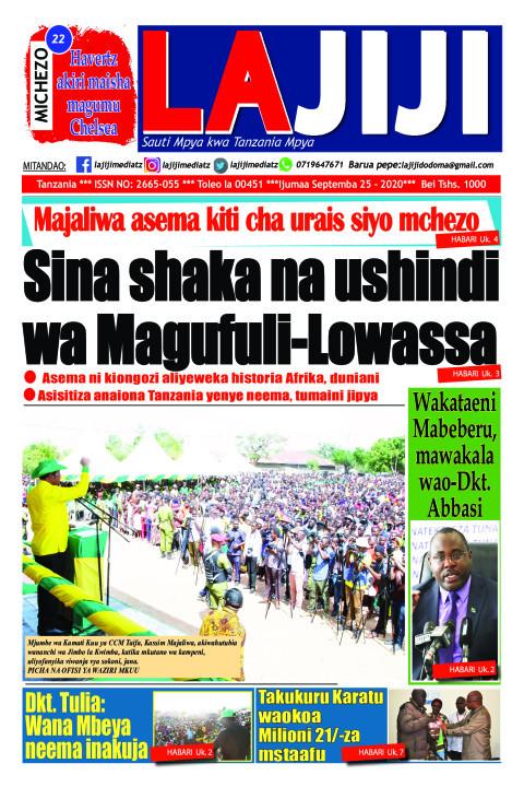 Sina shaka na ushindi  wa Magufuli-Lowassa  | LaJiji