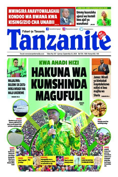 HAKUNA WA KUMSHINDA MAGUFULI | Tanzanite